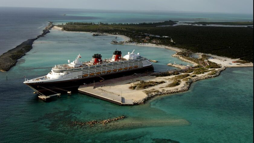 ** FOR IMMEDIATE RELEASE ** This undated photo released by Disney shows a Disney cruise liner in Cas