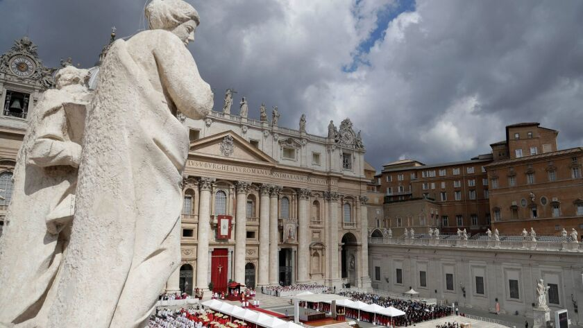 The walk ends at St. Peter's Square, where Pope Francis often holds Mass and greets audiences.