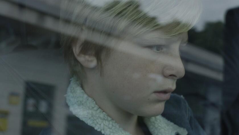 "Thomas Gioria in the movie ""Custody."""