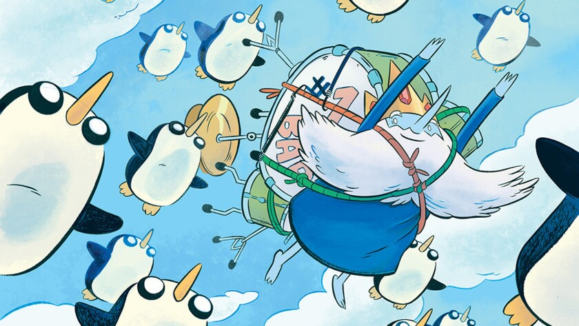 """An """"Adventure Time"""" comic book miniseries focusing on the Ice King is on the way."""