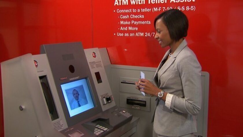 Bank of America rolls out ATMs with video links to real tellers