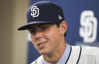 Padres' No.1 pick MacKenzie Gore dealing in spring training