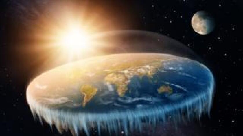 """La teoría de que la Tierra es plana ha ido ganando adeptos en los últimos años, con la primera conferencia de """"terraplanistas"""" celebrada a fines del pasado año en Estados Unidos. Hay incluso celebridades de Hollywood y de la NBA que la defienden."""