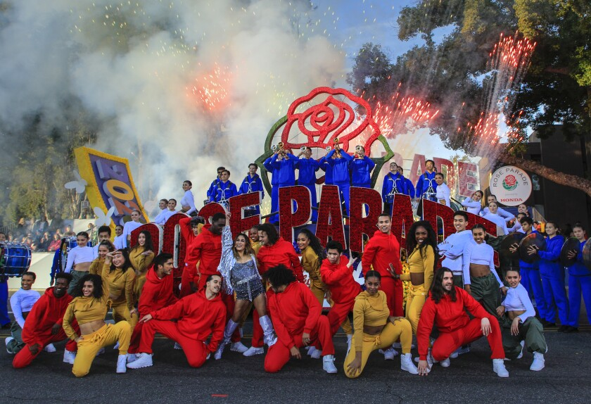 Central La Christmas Parade 2021 Canceled Rose Parade Will Air As A Tv Special Instead Los Angeles Times