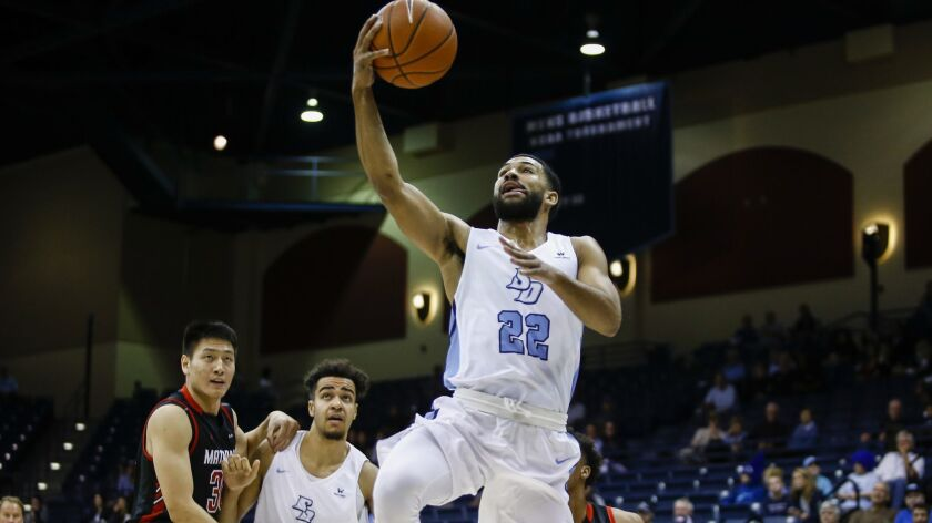 USD point guard Isaiah Wright returns to action Thursday night against Portland after missing four games.