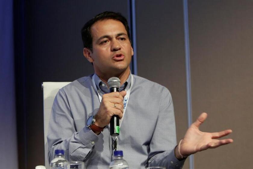 En la imagen, el presidente de Movistar Colombia, Fabián Hernández. EFE/Archivo