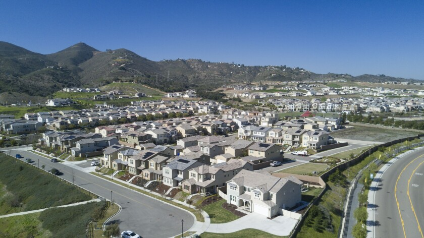 Harmony Grove Village west of Escondido is an example of master-planned housing developments in rural or semi-rural ares of the county. Two other developments located to the north and south of Harmony Grove Village were approved recently by the county, however those approvals are being challenged in court.