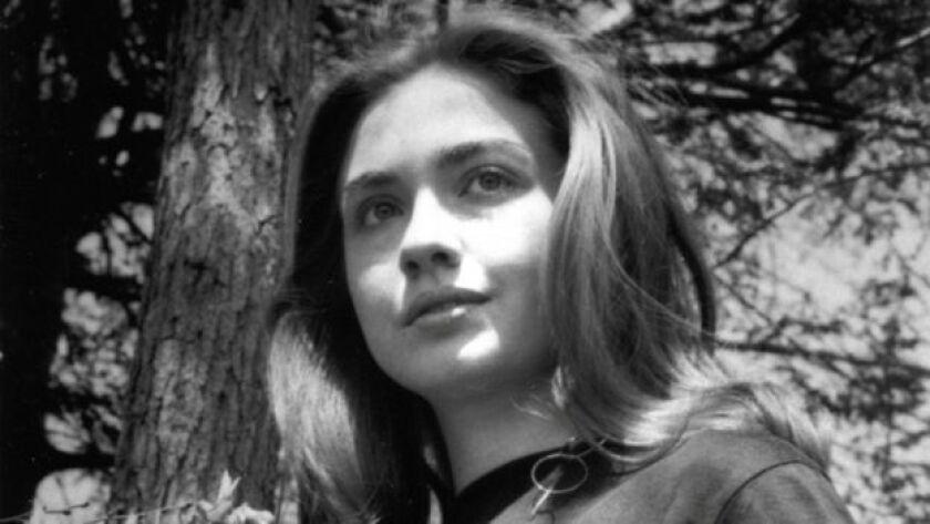 Hillary Clinton en sus tiempos de estudiante en el Wellesley College.