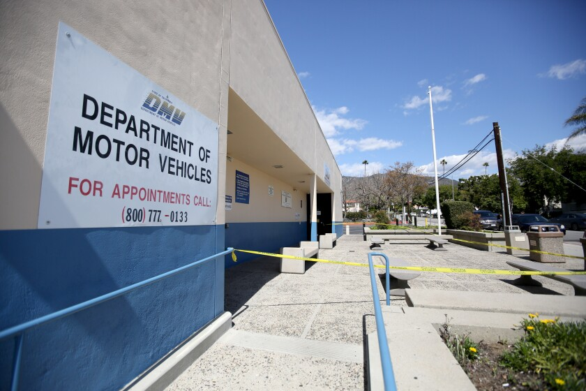 Department of Motor Vehicles office in Glendale