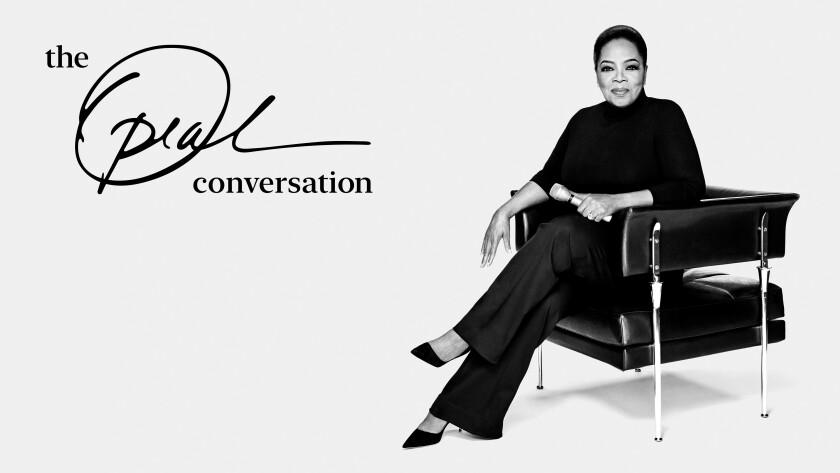 "Oprah Winfrey will host ""The Oprah Conversation."""