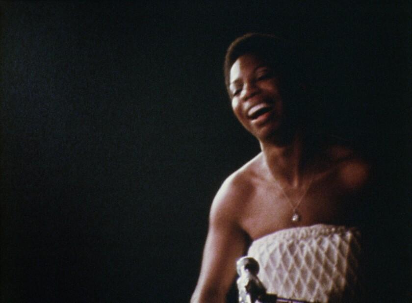 """Nina Simone in the Netflix original documentary movie """"What Happened, Miss Simone?"""""""