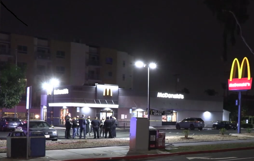 A 59-year-old man was fatally shot in University Heights early Wednesday morning, police said.