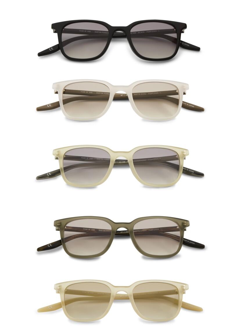 Barton Perreira X Fear of God sunglasses