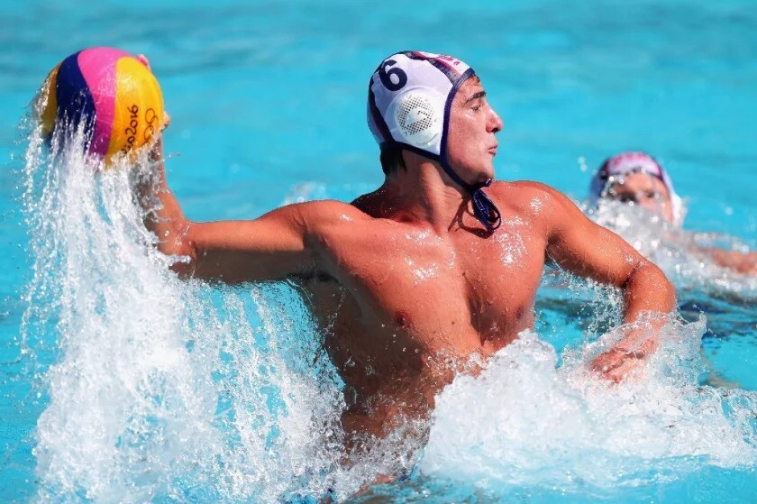 Former Newport Harbor High School standout Luca Cupido was named to his second Olympic team Friday.