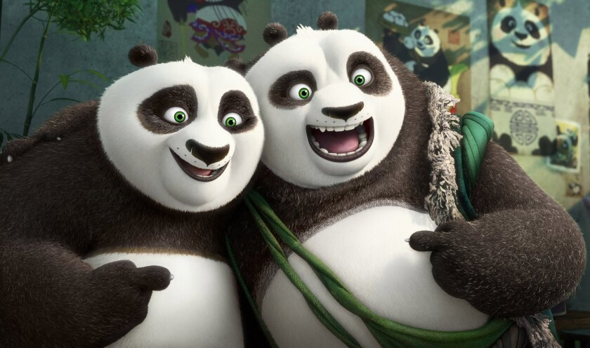 "It doesn't hurt its global box office appeal that ""Kung Fu Panda"" is set in China."