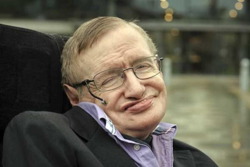 """Stephen Hawking in """"Hawking"""" on KOCE."""