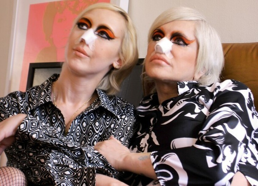 Genesis P-Orridge and Lady Jaye