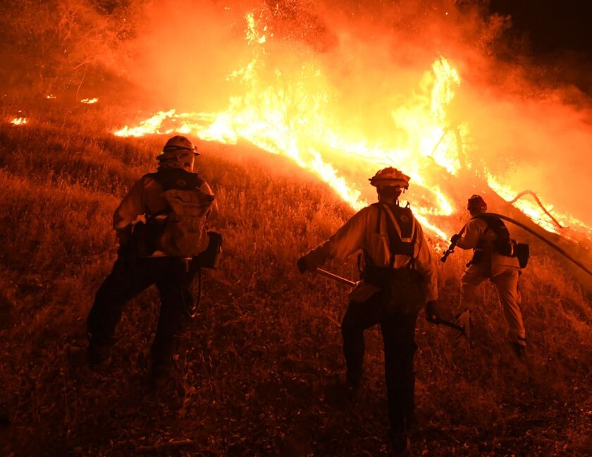 Letters to the Editor: Let insurance companies drop fire policies. It's the market at work
