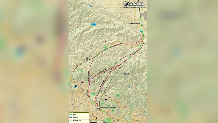 Revisions made to proposed bullet train route