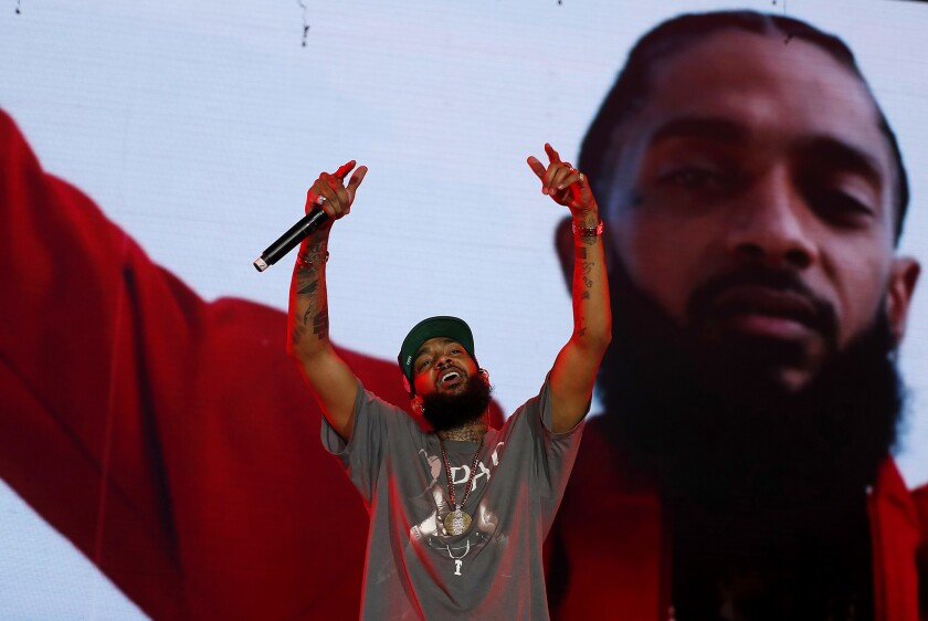 Violent death of rapper Nipsey Hussle stirs anguished reflections as