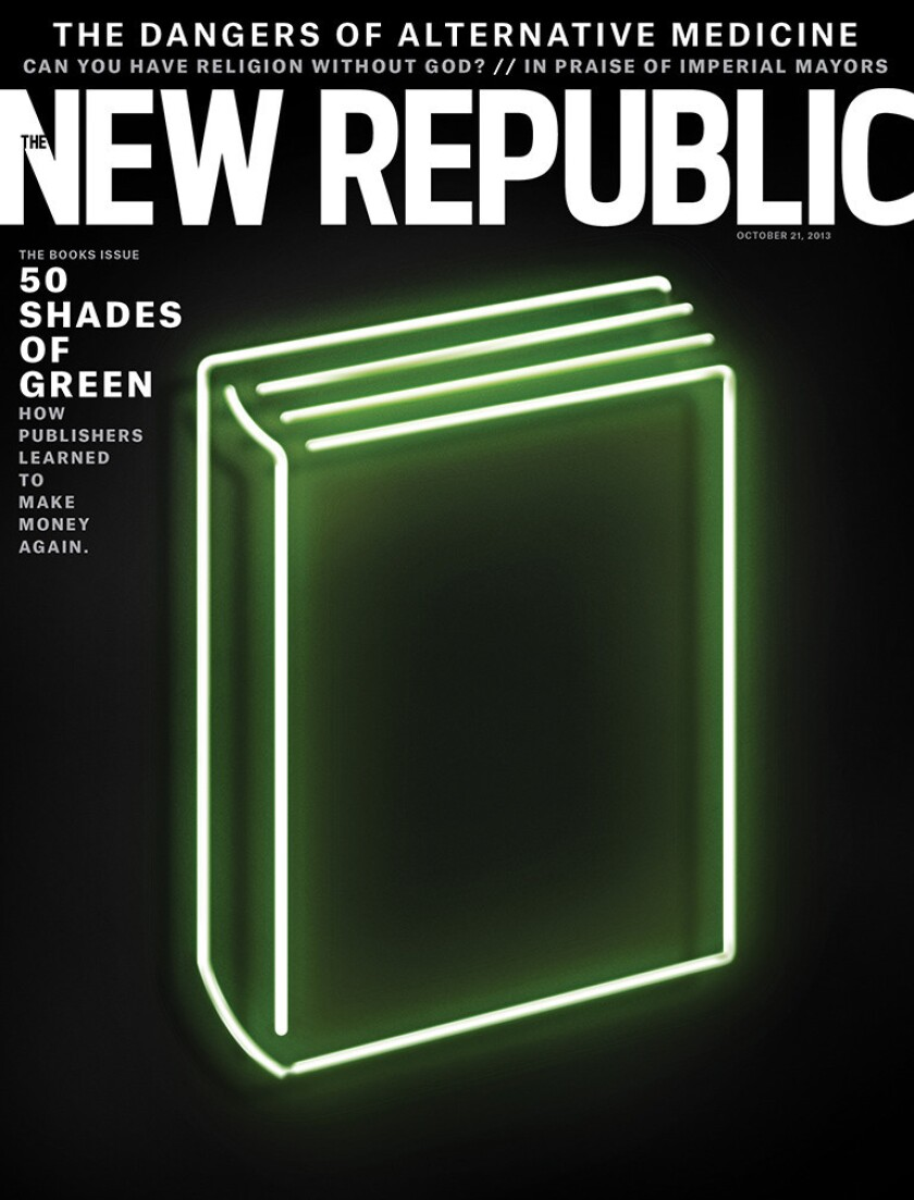 In the books issue of The New Republic, literary agent Andrew Wylie takes on Amazon.