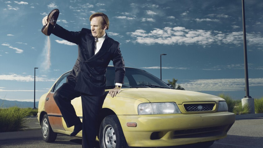 """Bob Odenkirk stars in the """"Breaking Bad"""" spinoff, """"Better Call Saul,"""" playing a two-bit attorney."""