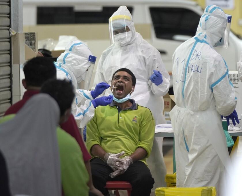 APTOPIX Virus Outbreak Malaysia