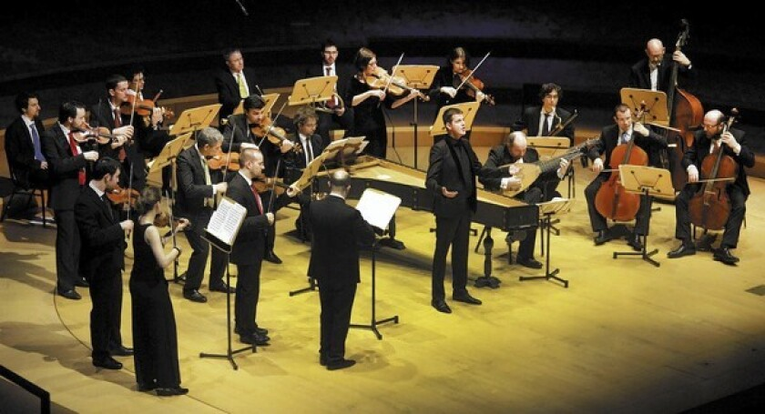 Countertenor Philippe Jaroussky performs Handel and Popora with the Venice Baroque Orchestra at Walt Disney Concert Hall.