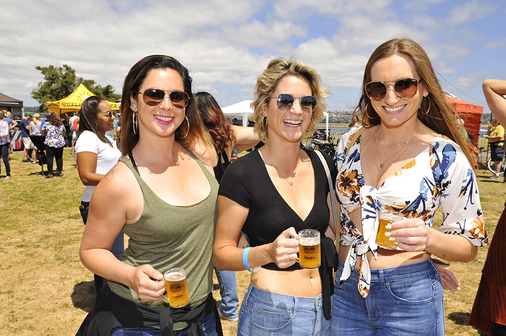 Those who attended Bikes, Boards and Brews in Pacific Beach got their fill of all three.