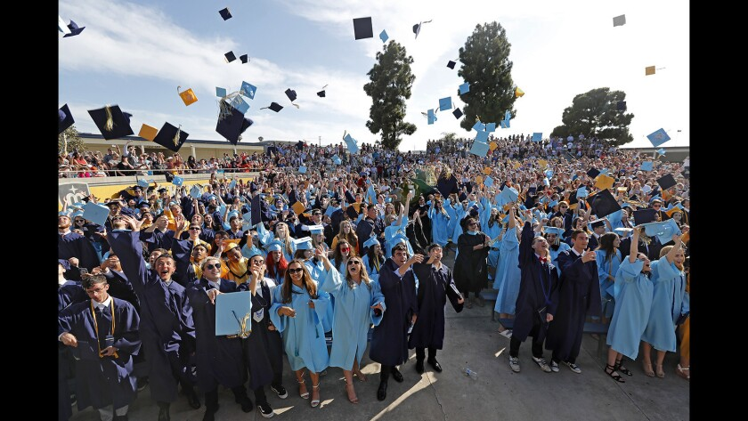 Photo Gallery:  Marina High School Graduation
