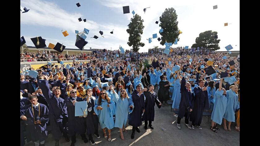 High school graduations ceremonies are yet another casualty to coronavirus school closures.