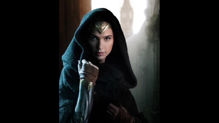 "Gal Gadot stars as Diana Prince/Wonder Woman in ""Wonder Woman."""