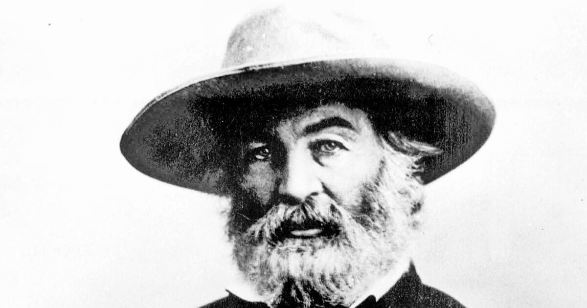 Opinion: Walt Whitman, American buddha