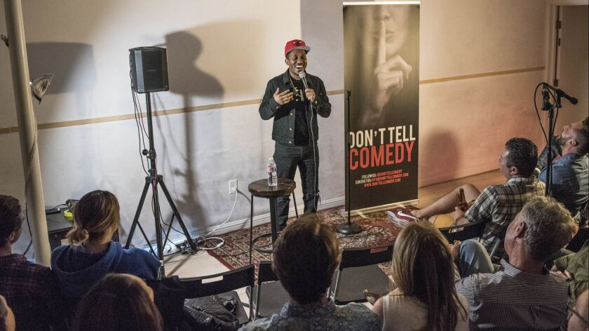 HOLLYWOOD CA MAY 25, 2019 -- Chris Redd, a cast member on Saturday Night Live, does a set during Do