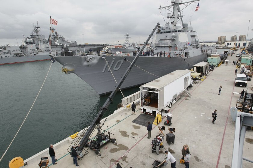 "Filming for the second season of TNT Network's hit show ""The Last Ship"" has been taking place at Naval Station San Diego during the last week aboard the Navy Destroyer USS William P Lawrence."