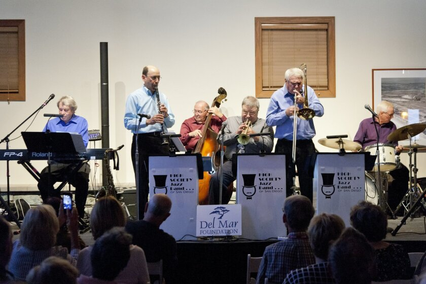 The High Society Jazz Band opened the new season of FIrst Thursdays. Courtesy photo