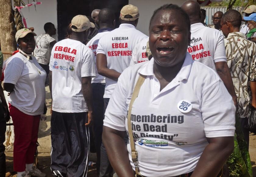 Liberians remember Ebola victims