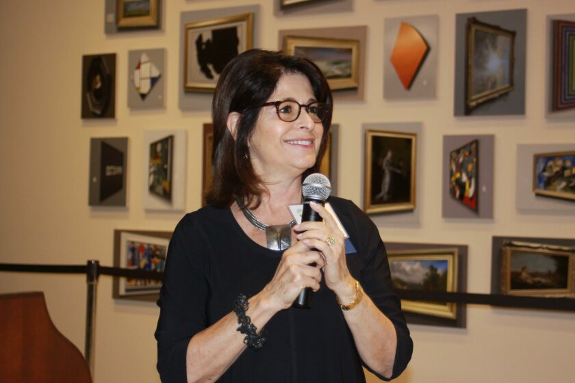 La Jolla Community Foundation board chair and La Jolla Light president Phyllis Pfeiffer