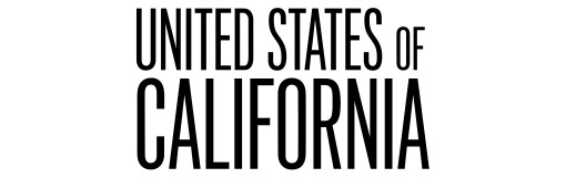 """Text that says """"United States of California"""""""
