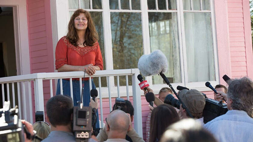 """Catherine Keener in the movie """"Little Pink House."""""""