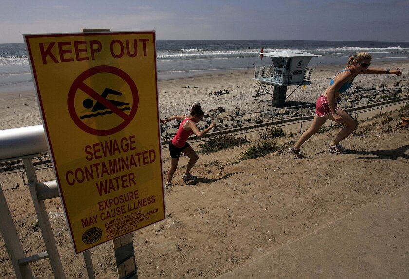 Beaches near Los Penasquitos Lagoon outlet were closed for days following a 2.6 million gallon sewage spill on Sept. 8 at a pump station upstream.