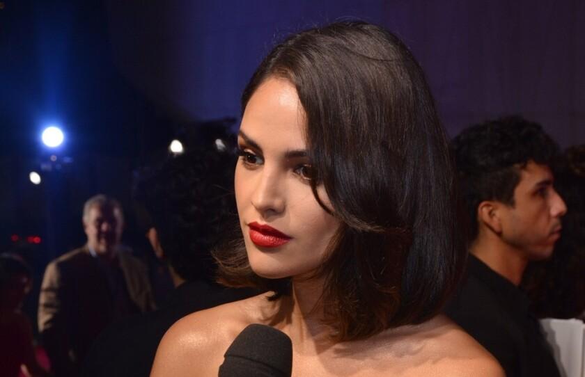 La actriz mexicana Eiza González en una imagen de archivo.