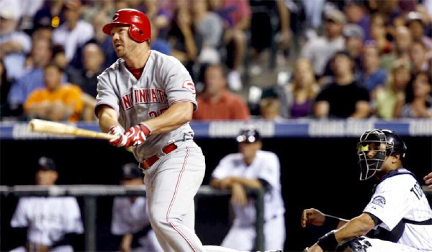 The Dodgers have had internal discussions about pursuing third baseman Scott Rolen, according to a person familiar with the team's thinking.