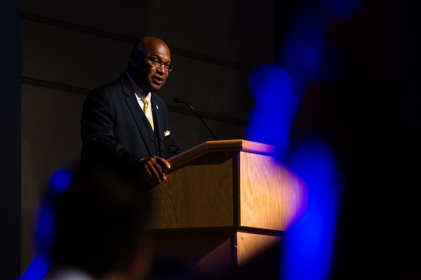 Earl W. Edwards is the director of athletics at UC San Diego.