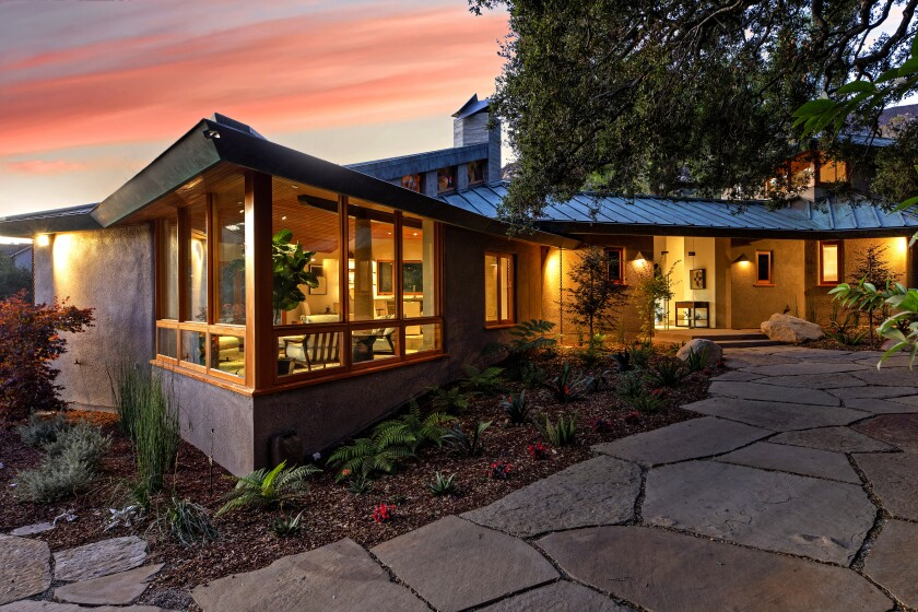 Home of the Week | A modern aerie in Montecito