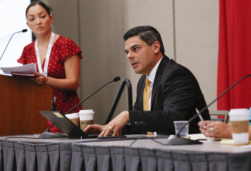 UnidosUS convention in downtown, San Diego.