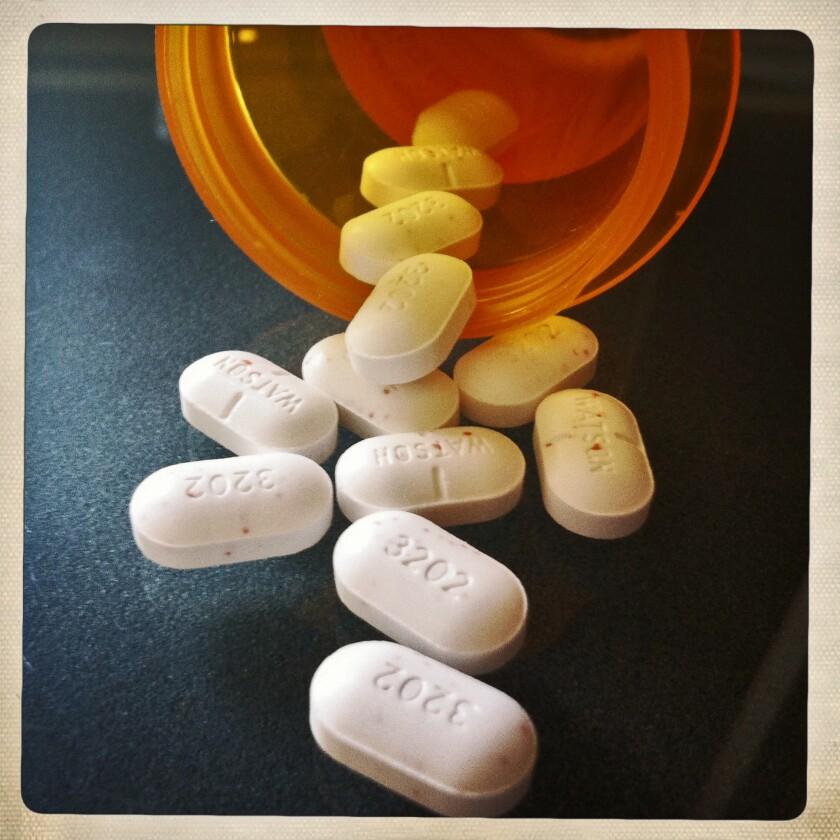 Vicodin Tablets.