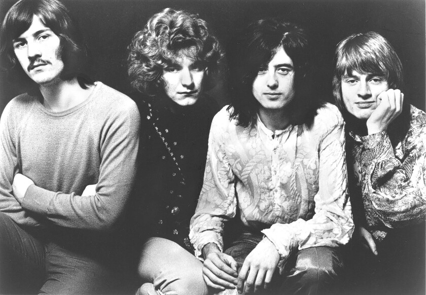 Led Zeppelin in 1969.