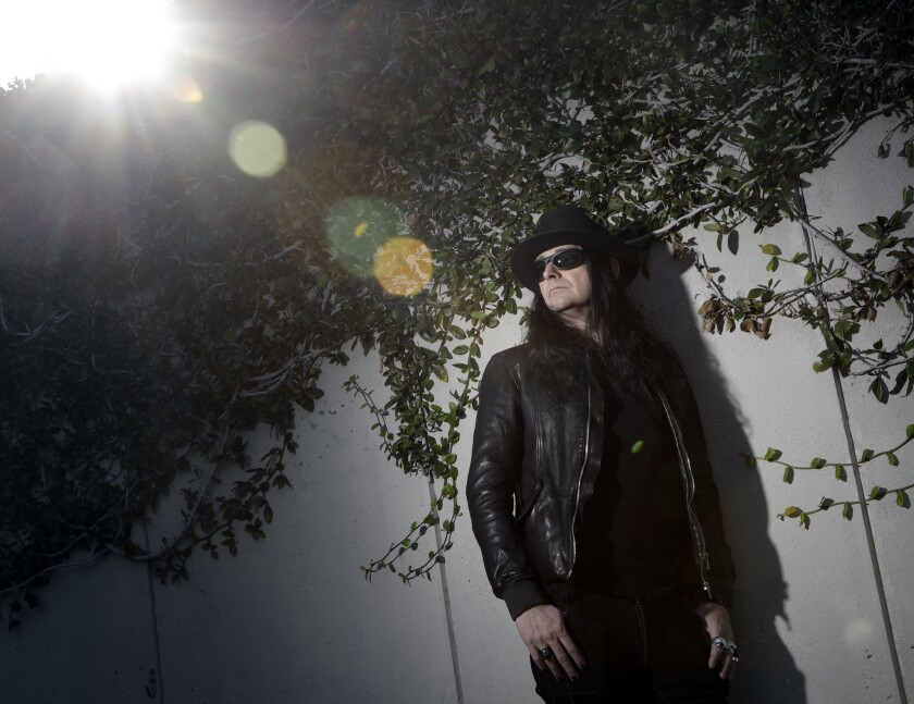 """WEST HOLLYWOOD, CA -- JANUARY 24, 2018: Jonas Akerlund is the former drummer for """"Bathory"""" and the d"""