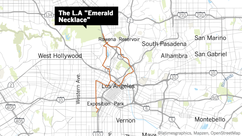 Imagine a series of greenways connecting some of L.A.'s most beautiful open spaces.